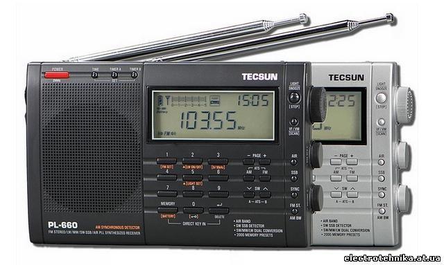 Цифровой радиоприемник TECSUN PL-660